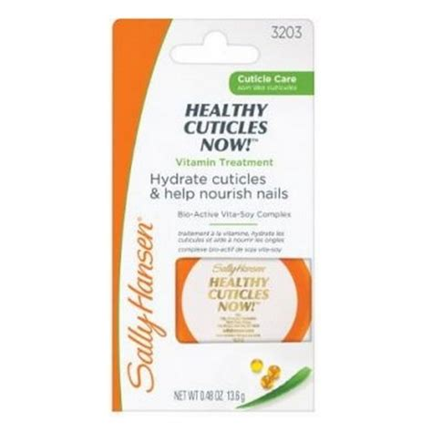 last stock sally hansen creme sally hansen healthy cuticles now with soy 3203 48 oz
