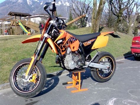 Ktm 400 Exc Supermoto 2002 Ktm 400 Exc Racing Pics Specs And Information