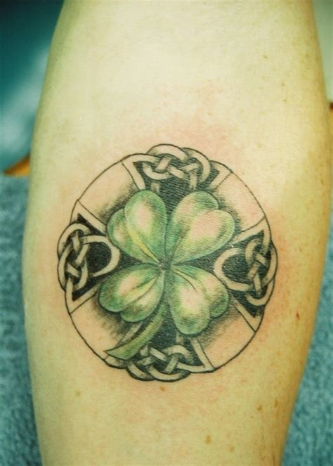 what are the meanings of the four leaf clover tattoos