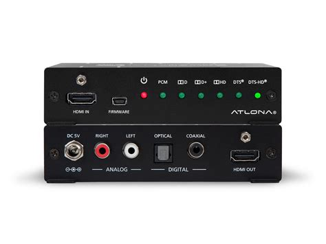 Multi Analog hdmi multichannel to two channel converter