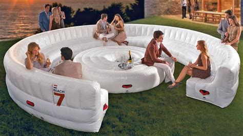 inflatable outdoor couch giant inflatable outdoor circular couch