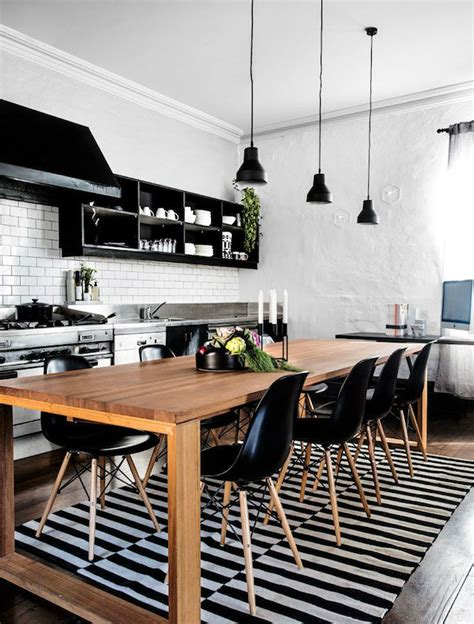 inspired black  white kitchen designs decoholic
