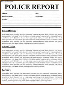 12 car accident police report template plantemplate info
