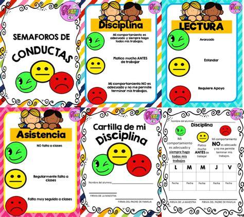 modelos de folder didacticos para inicial fabuloso sem 225 foro de conductas para todo el ciclo escolar