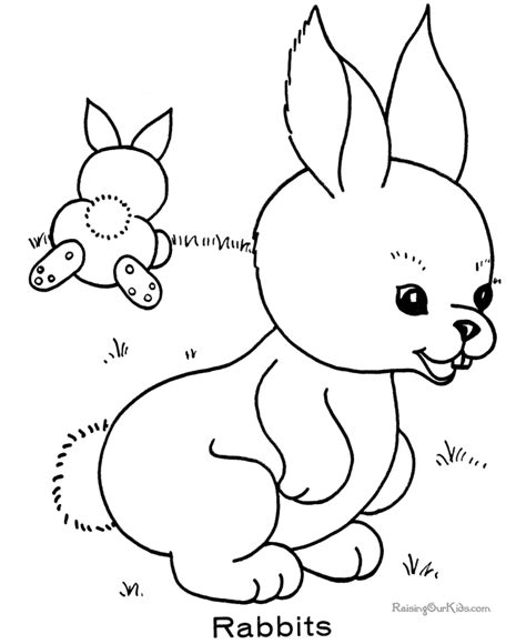 kindergarten easter coloring pages