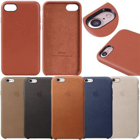 luxury genuine original leather cover for apple iphone 7 7 plus 6s 6s plus ebay