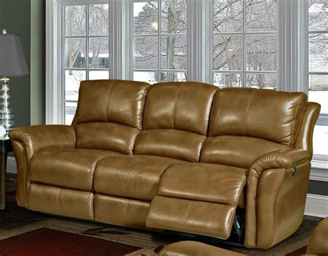 camel leather reclining sofa lewis power dual reclining sofa in camel leather by