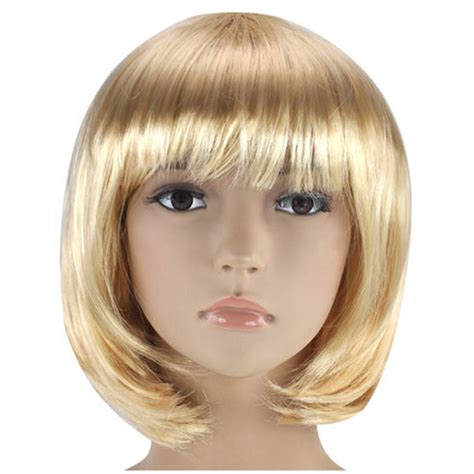 pictures of short wigs womens ladies short bob wig fancy dress cosplay wigs pop
