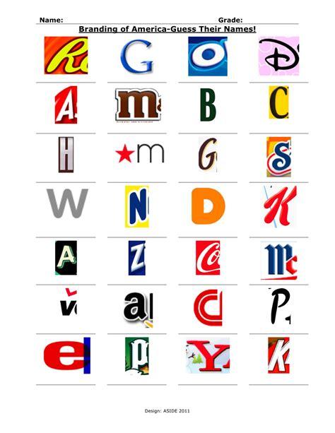 design a logo worksheet innovation design in education aside designing
