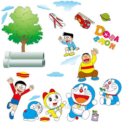 Wallsticker Doraemon 2 get cheap doraemon wall sticker aliexpress alibaba cliparts co