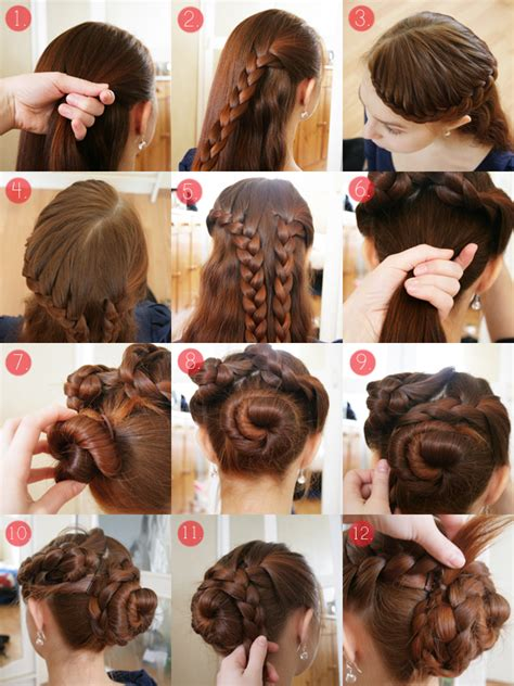 braids updo for short hairstep by step 15 fancy up do tutorials