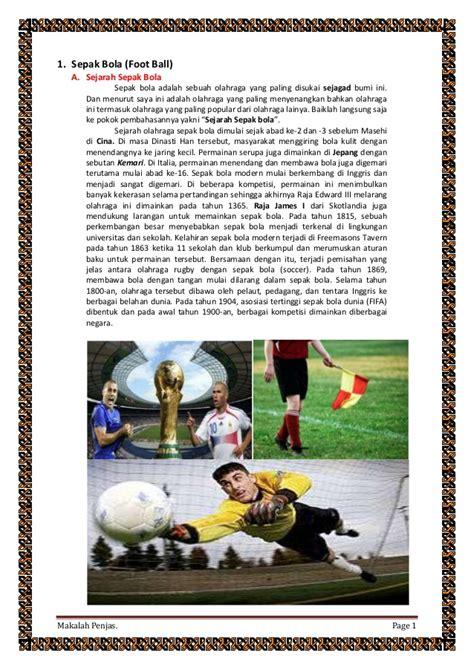 biografi adalah dan autobiografi adalah makalah penjas tentang ukuran dan sejarah sepak bola