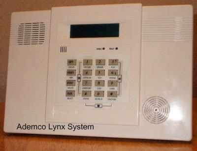 ademco home alarm system code programming