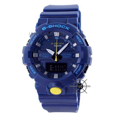 Gshock Biru Biru harga sarap jam tangan g shock ga 800sc 2a biru sneaker