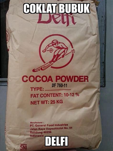Delfi Cacao jual coklat bubuk merk delfi harga murah kota tangerang oleh pd anugerah tangerang