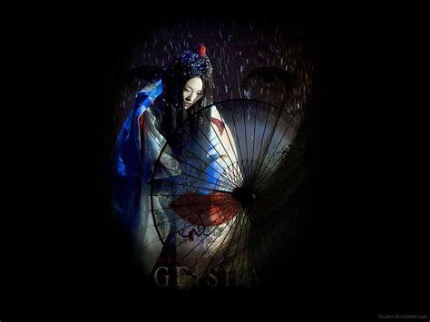 geisha wallpaper hd wallpapers