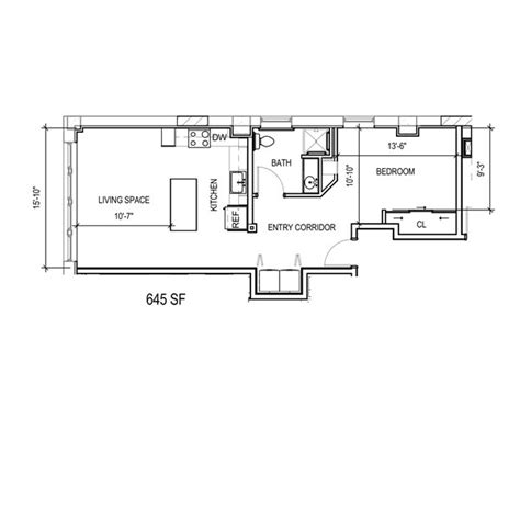 ada floor plans floor plan 1j ada mke lofts apartments