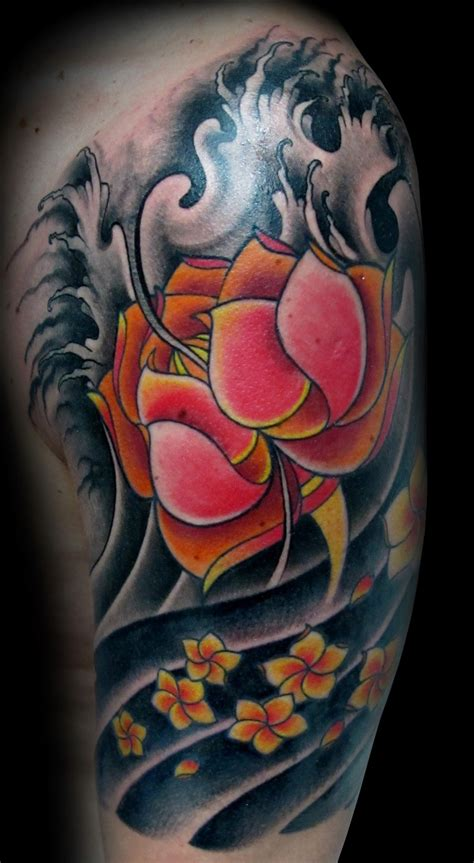 pin flor loto tribal hawaii dermatology tattoo images