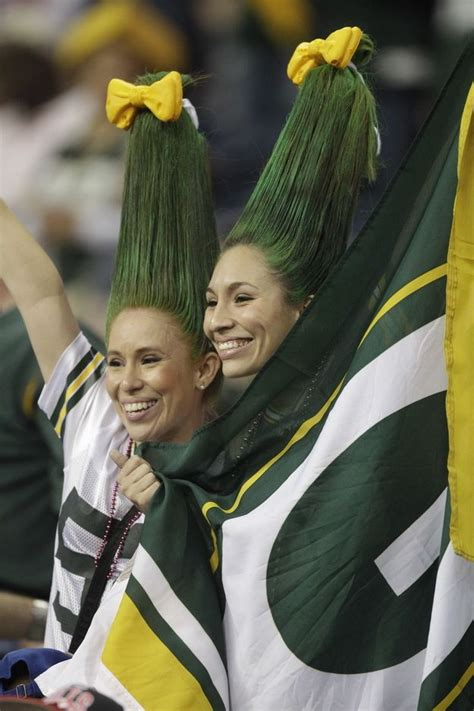 green bay packers haircuts 17 best images about green bay packers fans on pinterest
