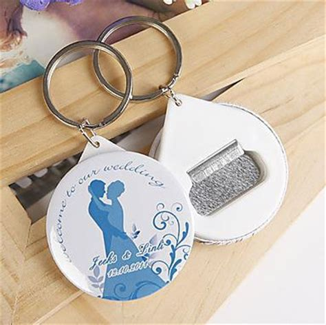 Personalized Wedding Souvenirs Personalized Wedding Giveaways - free shipping 100pcs personalized wedding favors and gifts bottle opener keychain
