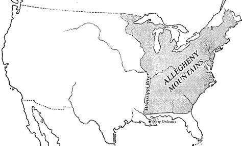 us map louisiana the us expands west voa learning