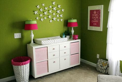 decoracion de habitacion de bebe en color verde habitaci 243 n del beb 233 en verde