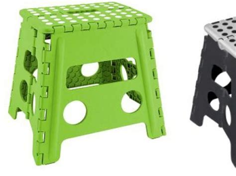 Kennedy 9 In Collapsible Step Stool by Recall Alert Foldable Step Stools Sold At T J Maxx