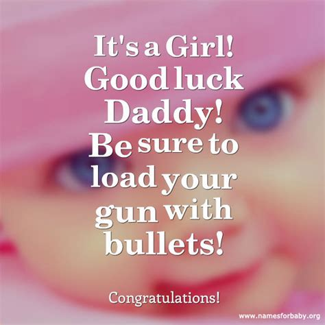 congratulations on the birth of your beautiful baby girl card