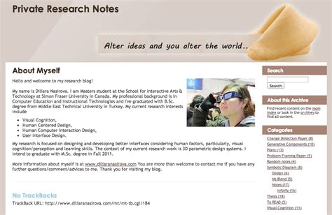 about me section private research notes diliara s blog