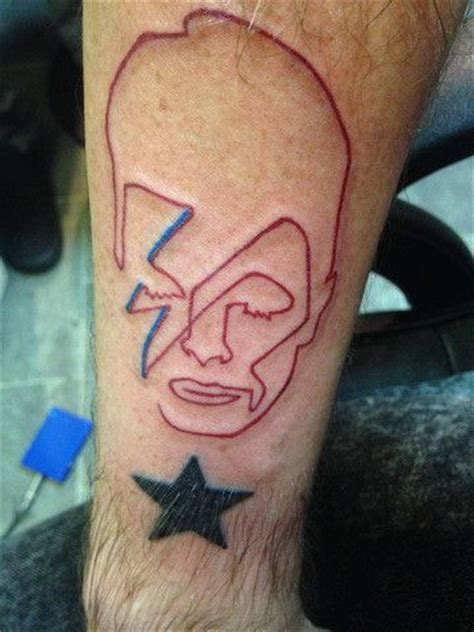 david bowie lightning bolt tattoo black sane lightning bolt search