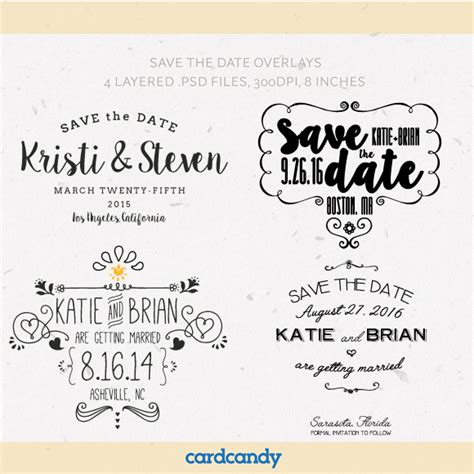 Download Free Templates For Christening Save Date Cards 187 Designtube Creative Design Content Save The Date Indesign Template