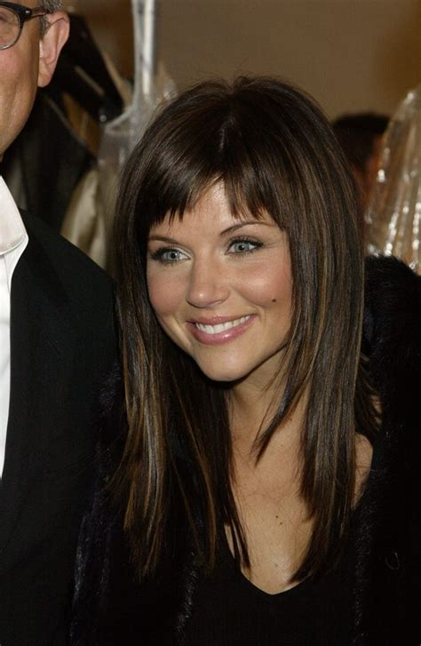 Tiffani Thiessen Hairstyles by My Favorite Tiffani Thiessen Hair Caramel Highlights