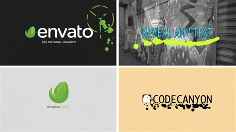 liquid paint logo reveal cartoons envato videohive