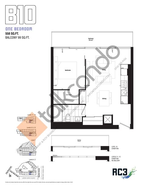 River City Floor Plans by River City Phase 3 Rc3 Condos Talkcondo