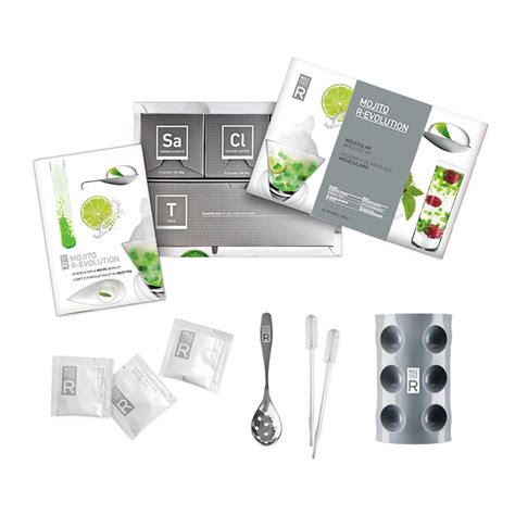 kit de cuisine mol馗ulaire coffret kit cocktail mojito mol 233 culaire vin cocktail