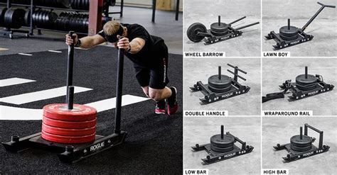 rogue dog sled   crossfit workouts
