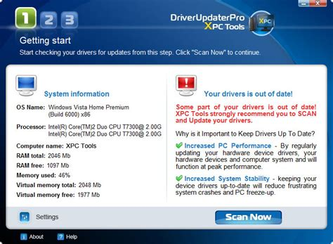 full driver updater pro driver updater pro 4 1 5 0 freeware download