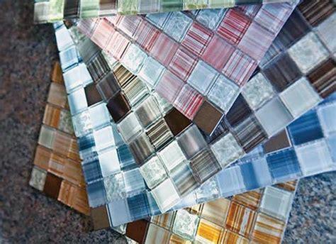 diy mosaic tile backsplash kit slippery rock gazette a beautiful glass backsplash in a box