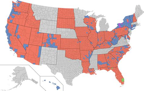 electoral map of the united states fichier 2010 united states senate election map by county