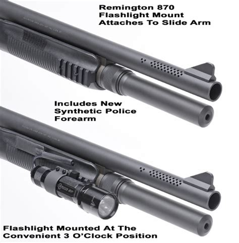 remington 870 tactical light 870 tactical light mount flashlight forend for remington