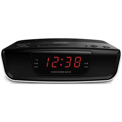 Philips Alarm Clock Ajt3300 philips dual alarm clock radio dining table and alarm