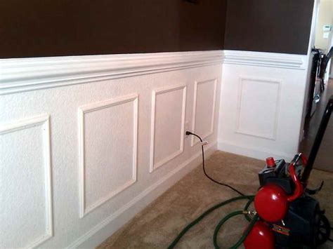 Cost To Install Wainscoting How To Install Wainscoting Raised Panels Youyesyou