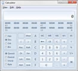 calculator hexadecimal digital electronics how to use windows calculator for