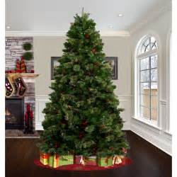 astella 7 5 green artificial christmas tree with 500