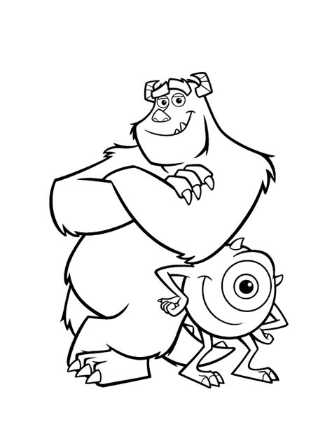 monster coloring pages coloring pages to print