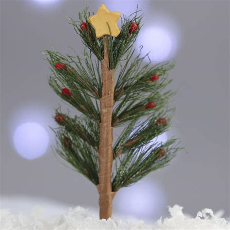 mini charlie brown christmas tree christmas and holiday