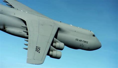 The U S Air largest plane in the u s air the c 5 galaxy