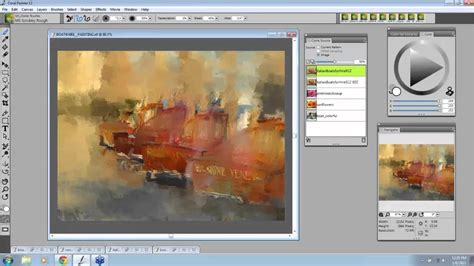 tutorial watercolor coreldraw easy clone painting in corel painter 12 with marilyn