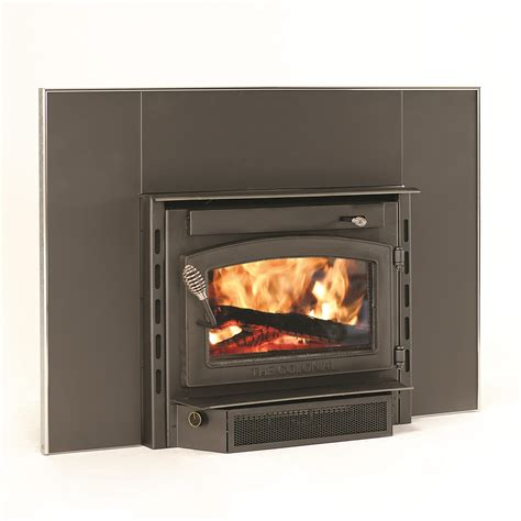 vogelzang tr004 colonial fireplace insert with blower