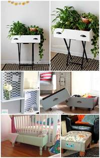 5 ways to repurpose a drawer infarrantly creative